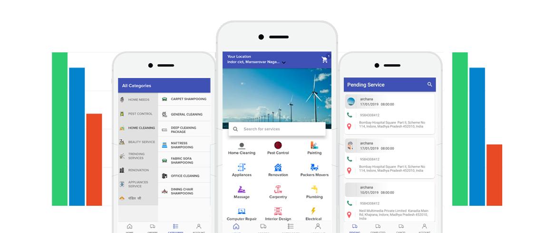 On Demand App Development Company : On Demand Service App